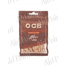 OCB FILTRI VIRGIN 6mm. SLIM BUSTA 150x10