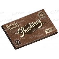 A00021007 SMOKING DOPPIA CORTA BROWN DA 25