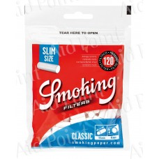 SMOKING FILTRI 6mm. SLIM BUSTA 120x30