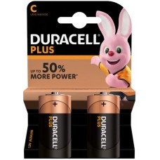 DURACELL Plus Power MN1400 MEZZA TORCIA C BL2x10