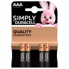 DURACELL Simply MN2400 MINISTILO AAA BL4x10