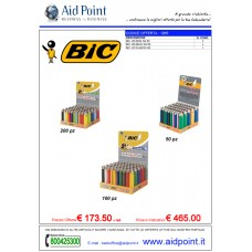 OFFERTA BIC ASSORTITI TOTALE  350 PZ