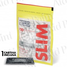 CLIPPER FILTRI 6MM IN BUSTA CON CARTINA SILVER 34 X 120