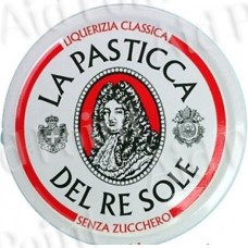 PASTICCHE RE SOLE LATTINA LIQUIRIZIA CLASSICA DA 12