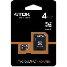 TDK MICRO SD CARD 4Gb